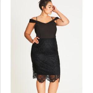 NWT City Chic Pick Me Up Sheath Dress